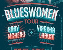 Gaby Moreno y Virginia Labuat unen sus vibrantes voces en el concierto BluesWomen