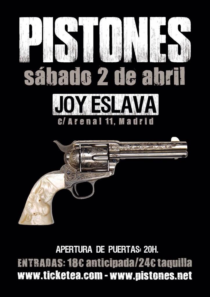 Concierto Pistones Joy Eslava