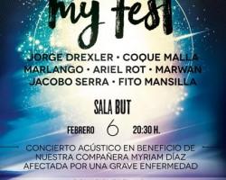 MY FEST: Coque Malla, Ariel Rot, Jorge Drexler y muchos más en concierto benéfico