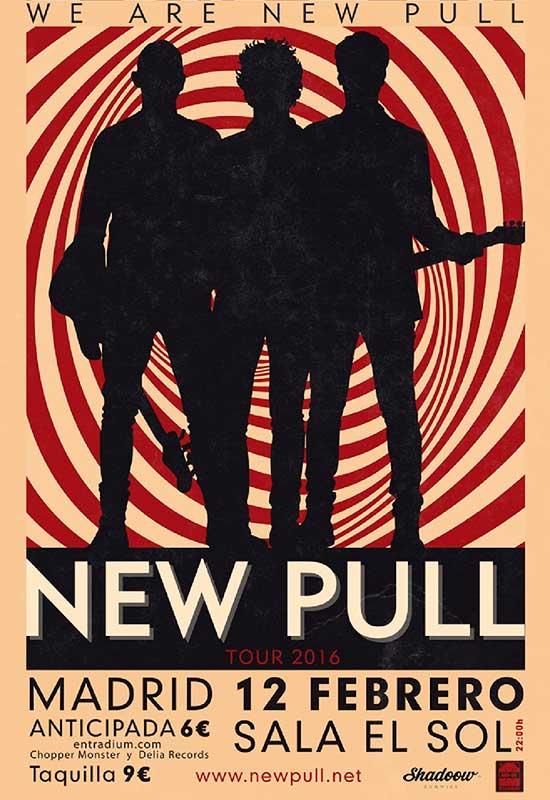 Concierto New Pull en Sala Sol