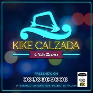 concierto Kike Calzada Buho Real