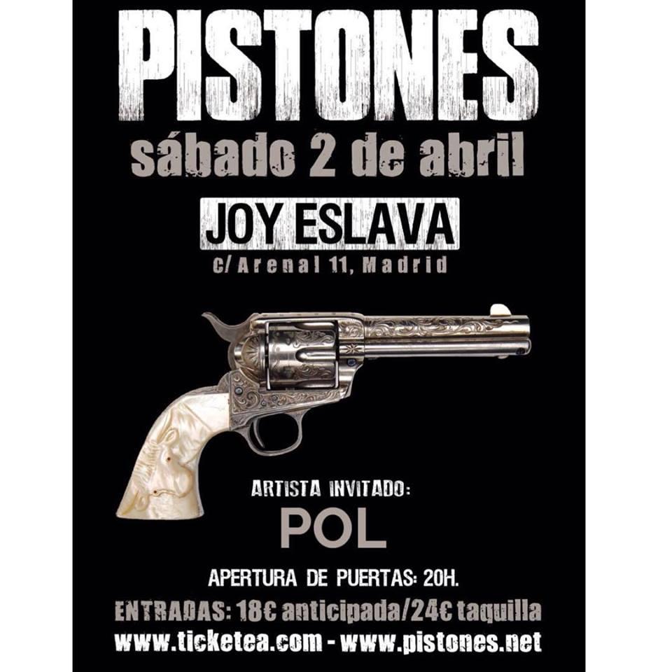Concierto de Pistones en Madrid