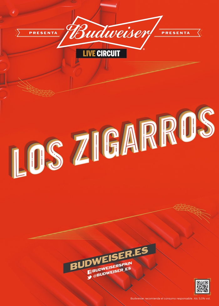 concierto los zigarros madrid 2016