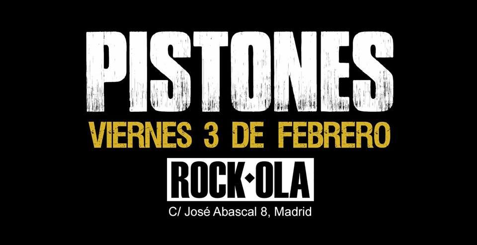 concierto pistones madrid rockola
